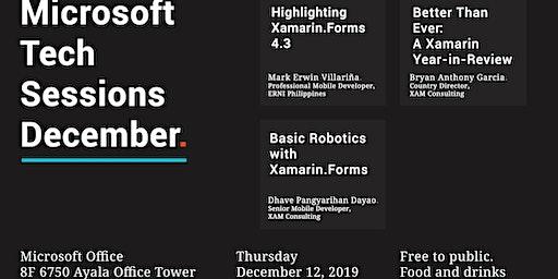 Microsoft Tech Sessions - December