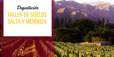 Degustación: Taller de suelos, Salta y Mendoza