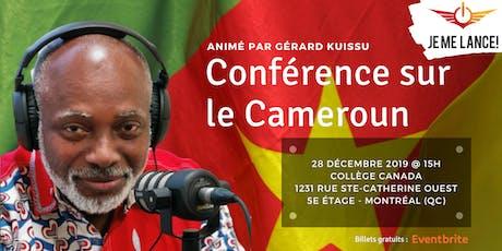 Conférence sur le Cameroun (Collège Canada) billets