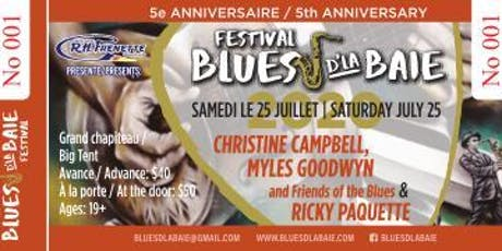 Christine Campbell , Myles Goodwyn and Friends & Ricky Paquette tickets