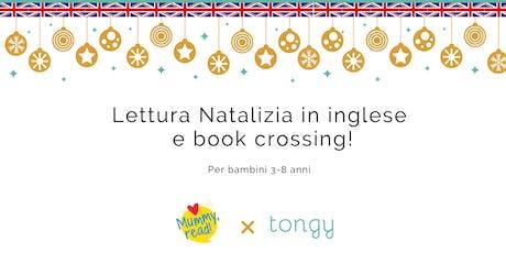 Lettura natalizia in inglese e book crossing! biglietti
