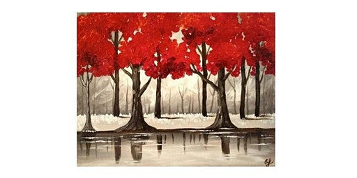 Paint Party at Scooters Sports Bar in Arlington I 03.04.20