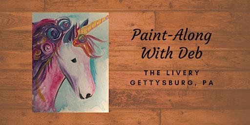 Unicorn Me & Mini Me - The Livery Paint-Along