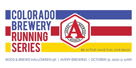 Boos & Brews Halloween 5k - Avery Brewing | Colorado Brewery Running Series tickets