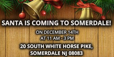 Santa Is Coming To Somerdale!