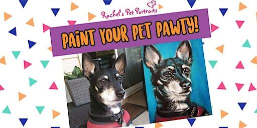Paint Your Pet Pawty!