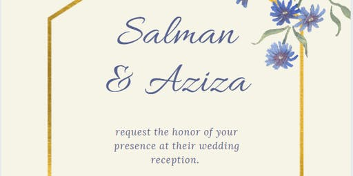 Salman & Aziza's Wedding
