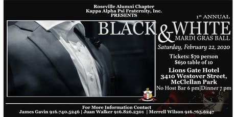 Roseville Alumni Chapter of Kappa Alpha Psi, Inc. Black & White Ball tickets