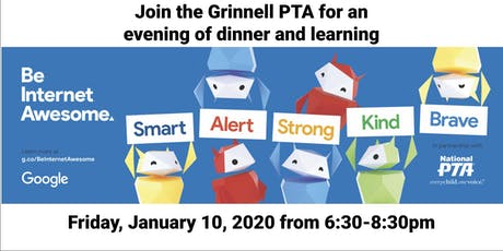 Grinnell PTA - Be Internet Awesome Family Workshop tickets