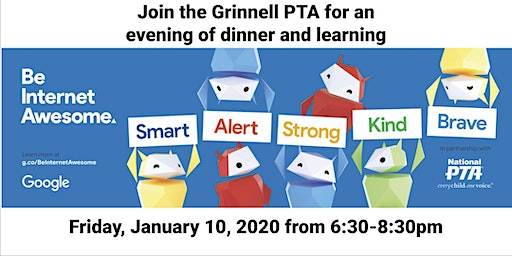 Grinnell PTA - Be Internet Awesome Family Workshop