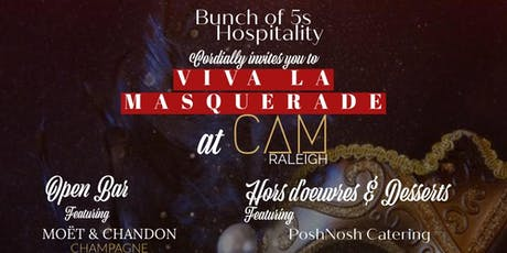 Viva La Masquerade New Years Eve Gala at CAM Raleigh tickets