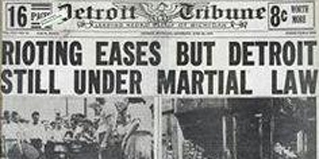Forged By Fire: Race Riots & Racial Rebellions in Detroit's Black History tickets