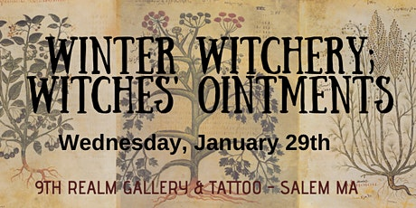 Winter Witchery - Crafting Witches' Ointments tickets
