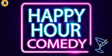 English Stand-Up Comedy - Happy Hour Comedy #1 FREE ENTRY with free shots tickets