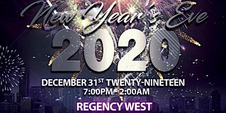 NEW YEAR'S EVE 2020 @ REGENCY WEST tickets
