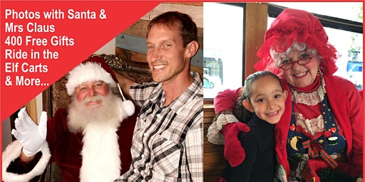 Meet Santa and Mrs Claus - 400 Free Gifts - & More...
