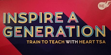 Heart TSA Train to Teach Information Event February tickets