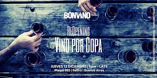 1st Anniversary: Celebramos con Vinos por copa