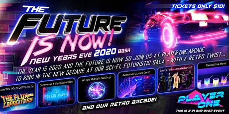 The Future is Now 2020 NYE Bash at Player One Barcade in Noho! tickets