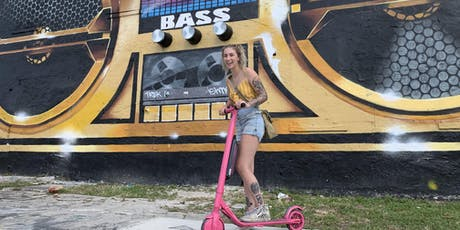 2.5hour Wynwood Murals E-Scooter Tour w/ Scoot and Sea Tours tickets