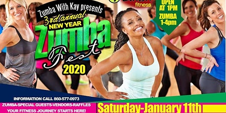 Start your fitness journey right here! New Year Zumba Fest - 2020 @Casona tickets