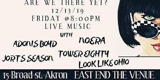 Noera//Jorts Season//Adonis Boyd//Looks Like Ohio//Tower Eighty