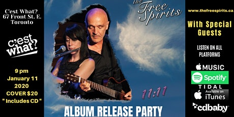 The Free Spirits Album Release Party with Special Guests at C'est What?! tickets