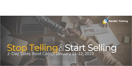 Sandler 2-Day Sales Boot Camp tickets