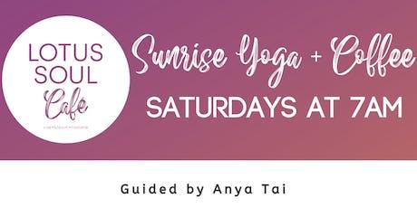 Sunrise Yoga + Coffee tickets
