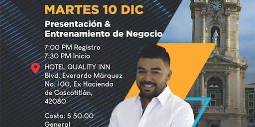 Copy of Presentación y Entrenamiento de Negocio PACHUCA - MR CESAR MUÑOZ
