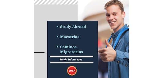 Sesión Informativa EMSA GDL: Maestrías y Study Abroad