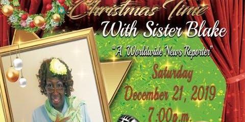Christmas Time With Sister Blake