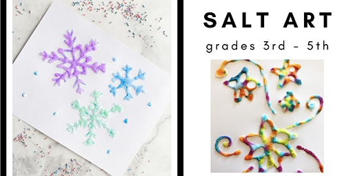 Salt Art [3rd-5th]