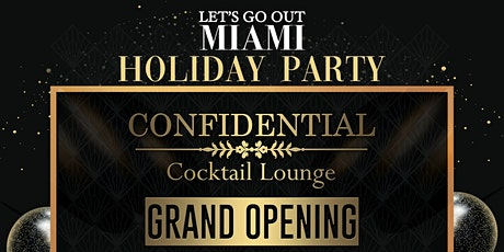 Confidential Grand Opening at Prohibition tickets