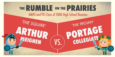 AMHS and PCI Class of 2000 High School Reunion: The Rumble on the Prairies tickets