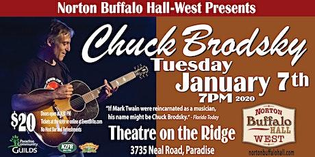 Chuck Brodsky @ Theatre on the Ridge tickets