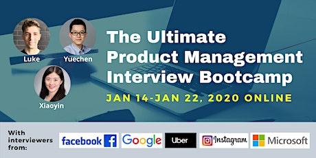 Product Management Interview Bootcamp biglietti