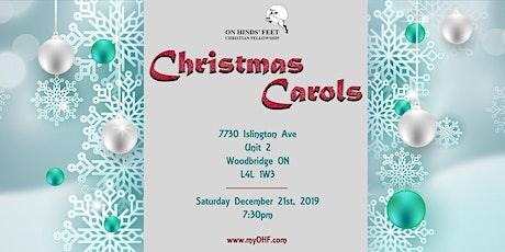 An Evening of Christmas Carols tickets