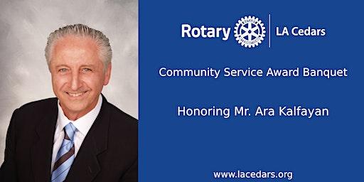 LA Cedars Rotary Club 2020 Community Service Award Banquet
