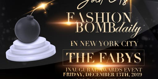 The FABY's, Fashion Bomb Daily's End of the Year Awards
