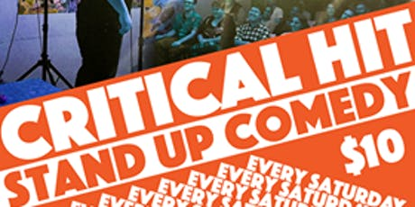 Critical Hit! New Years Eve Comedy Show tickets