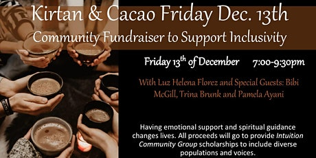 Kirtan & Cacao Community Fundraiser tickets