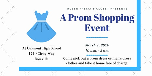 A Prom Shopping Event