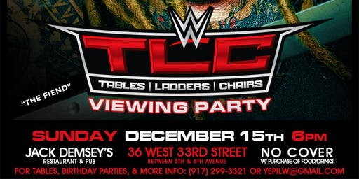 WWE TLC Viewing Party & Sonny Sofrito's Birthday