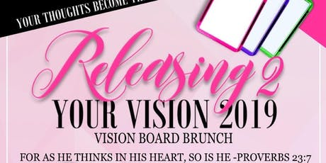 Releasing your Vision part 2 tickets