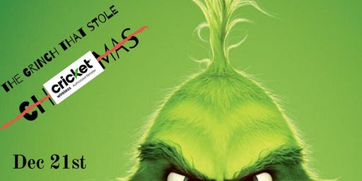 The Grinch that stole Cricket