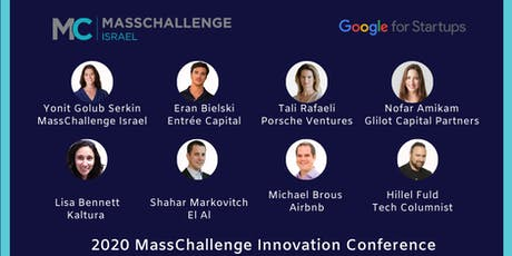 MassChallenge Israel: 2020 Innovation Conference tickets
