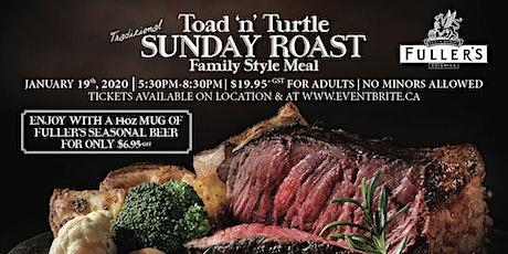 Toad 'n' Turtle Fuller's Sunday Roast tickets