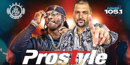 POPSMOKE & DJ PROSTYLE Power 1051 TakeOver Inside Stereo Garden Long Island