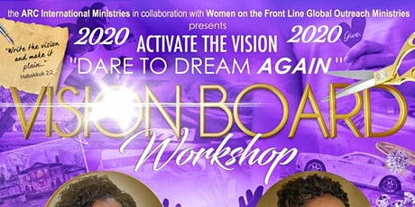 2020 Activate the Vision  - Vision Board Party tickets